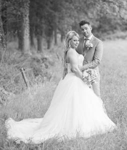 Bruidspaar Bas & Nadine