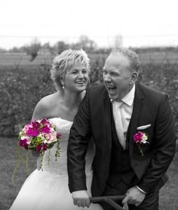 Bruidspaar Casper en Alida