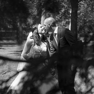 Bruidspaar Dave & Nathalie
