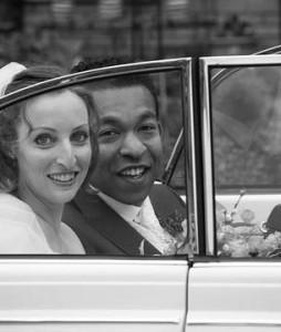 Bruidspaar Geert en Ity