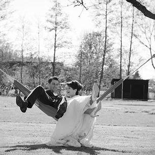 Bruidspaar Maarten en Anneke