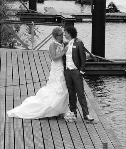 Bruidspaar Marc & Inge