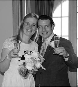 Bruidspaar Robert & Marieke