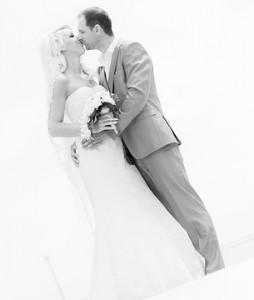 Bruidspaar Robert & Mariska