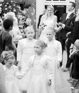 Bruidspaar Ronald & Annemieke